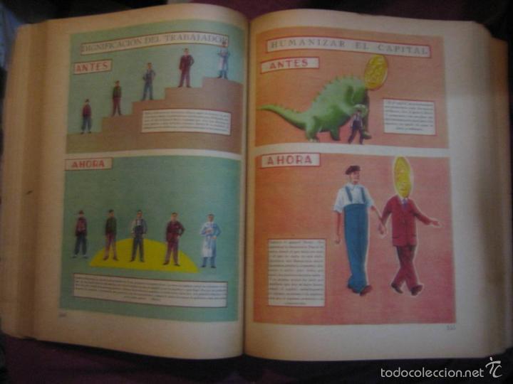 Libros de segunda mano: LA NACIÓN ARGENTINA JUSTA, LIBRE Y SOBERANA - GRAN FORMATO (1950) - Foto 2 - 57855542