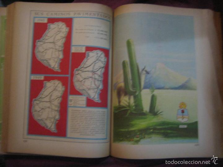 Libros de segunda mano: LA NACIÓN ARGENTINA JUSTA, LIBRE Y SOBERANA - GRAN FORMATO (1950) - Foto 3 - 57855542