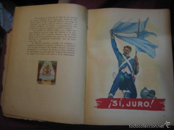 Libros de segunda mano: LA NACIÓN ARGENTINA JUSTA, LIBRE Y SOBERANA - GRAN FORMATO (1950) - Foto 6 - 57855542