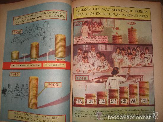 Libros de segunda mano: LA NACIÓN ARGENTINA JUSTA, LIBRE Y SOBERANA - GRAN FORMATO (1950) - Foto 7 - 57855542