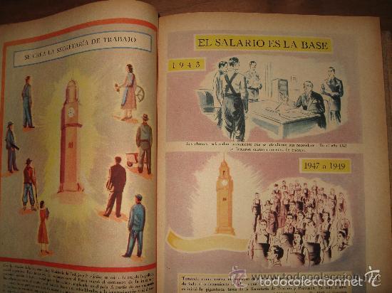 Libros de segunda mano: LA NACIÓN ARGENTINA JUSTA, LIBRE Y SOBERANA - GRAN FORMATO (1950) - Foto 10 - 57855542