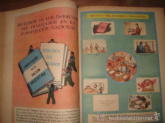 Libros de segunda mano: LA NACIÓN ARGENTINA JUSTA, LIBRE Y SOBERANA - GRAN FORMATO (1950) - Foto 11 - 57855542