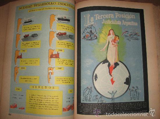 Libros de segunda mano: LA NACIÓN ARGENTINA JUSTA, LIBRE Y SOBERANA - GRAN FORMATO (1950) - Foto 14 - 57855542
