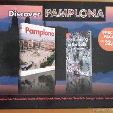 Libros de segunda mano: DISCOVER PAMPLONA - SPECIAL PACK - ED. EVEREST - 2008. Lote 57952609