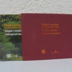 Libros de segunda mano: PAISAJES Y SENSACIONES VIAS VERDES DE ESPAÑA Y PORTUGAL. LANDSCAPES AND SENSATIONS. VER FOTOS.. Lote 57962130