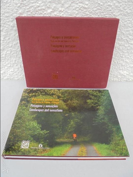 Libros de segunda mano: PAISAJES Y SENSACIONES VIAS VERDES DE ESPAÑA Y PORTUGAL. LANDSCAPES AND SENSATIONS. VER FOTOS. - Foto 2 - 57962130