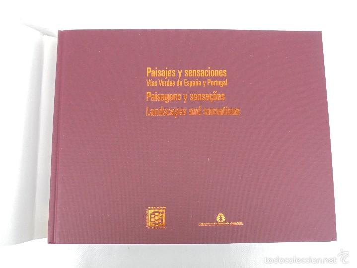Libros de segunda mano: PAISAJES Y SENSACIONES VIAS VERDES DE ESPAÑA Y PORTUGAL. LANDSCAPES AND SENSATIONS. VER FOTOS. - Foto 8 - 57962130