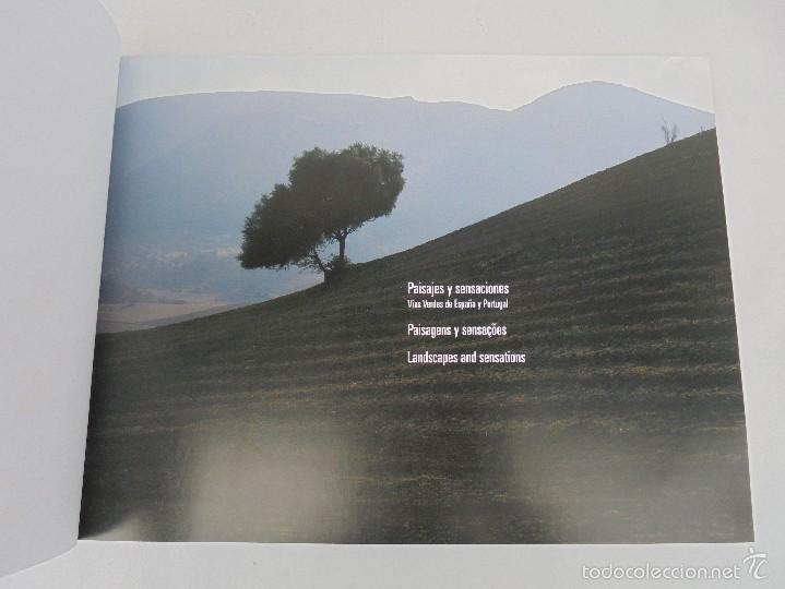 Libros de segunda mano: PAISAJES Y SENSACIONES VIAS VERDES DE ESPAÑA Y PORTUGAL. LANDSCAPES AND SENSATIONS. VER FOTOS. - Foto 9 - 57962130