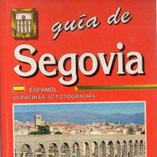 Libros de segunda mano: VESIV GUIA DE SEGOVIA. Lote 58183089