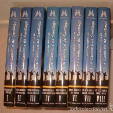 Libros de segunda mano: LA GRAN OBRA DE LOS CAMINOS DE SANTIAGO. ITER STELLARUM. OCHO TOMOS. RM75810. . Lote 58336584