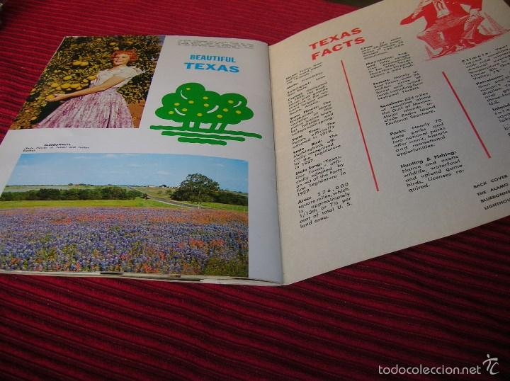 Libros de segunda mano: Interesante librito Texas - Foto 4 - 58602796