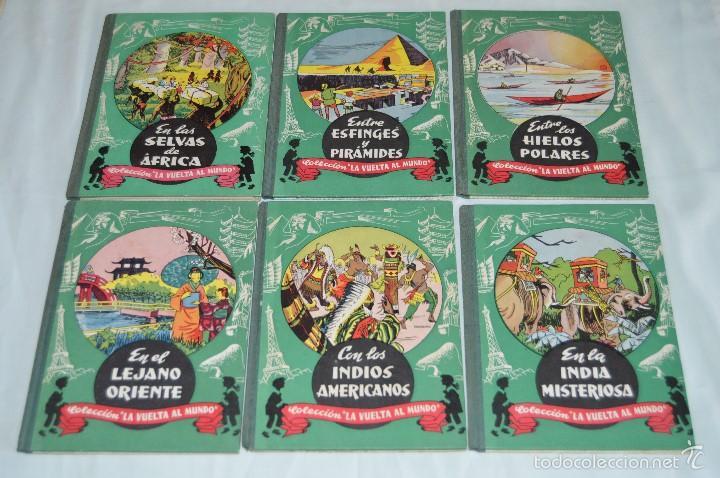 COLECCIÓN COMPLETA - LA VUELTA AL MUNDO - EDITORIAL DALMAU CARLES, PLA S.A. - AÑOS 60, MUY ANTIGUO (Libros de Segunda Mano - Geografía y Viajes)