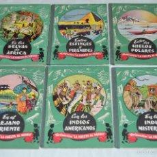 Libros de segunda mano: COLECCIÓN COMPLETA - LA VUELTA AL MUNDO - EDITORIAL DALMAU CARLES, PLA S.A. - AÑOS 60, MUY ANTIGUO. Lote 58634357