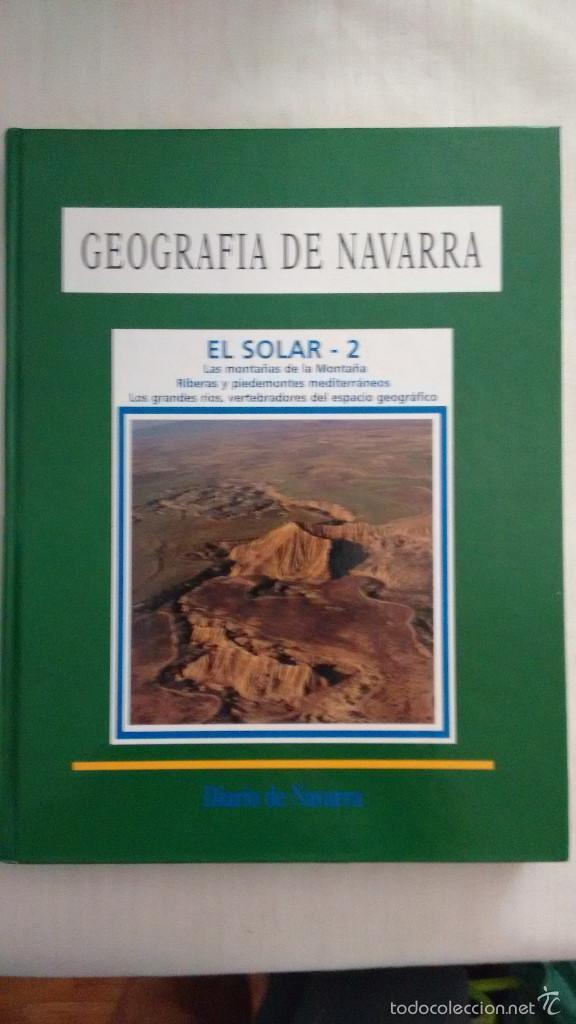 GEOGRAFIA DE NAVARRA 2 EL SOLAR 2 (Libros de Segunda Mano - Geografía y Viajes)