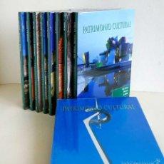 Libros de segunda mano: COLECCIÓN PATRIMONIO CULTURAL. 9 TOMOS. PRECINTADOS. Lote 59575391