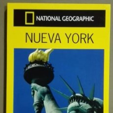 Libros de segunda mano: NUEVA YORK. NEW YORK. GUÍA DE VIAJE. NATIONAL GEOGRAPHIC. GUÍAS AUDI. A COLOR!! NUEVO!. Lote 60063899
