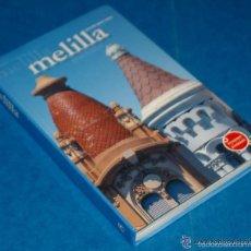 Libros de segunda mano: MELILLA - ANTONIO BRAVO NIETO - ED. EVEREST TURISMO 1ª EDICIÓN, DICIEMBRE 2002 - ISBN: 9788424193003. Lote 61101439