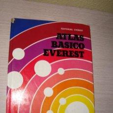 Libros de segunda mano - ATLAS BÁSICO EVEREST - EDITORIAL EVEREST - 1976 - 61602260