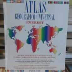 Libros de segunda mano: ATLAS GEOGRÁFICO UNIVERSAL EVEREST. Lote 61949804