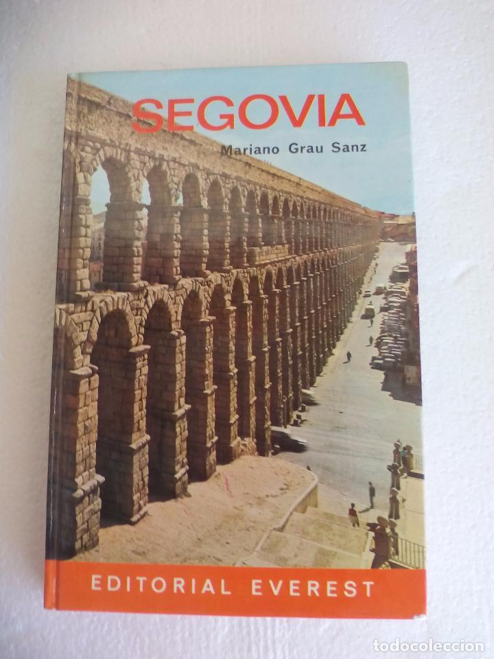 SEGOVIA GUIA TURISTICA EDITORIAL EVEREST - 1973 MARIANO GRAU SANZ (Libros de Segunda Mano - Geografía y Viajes)