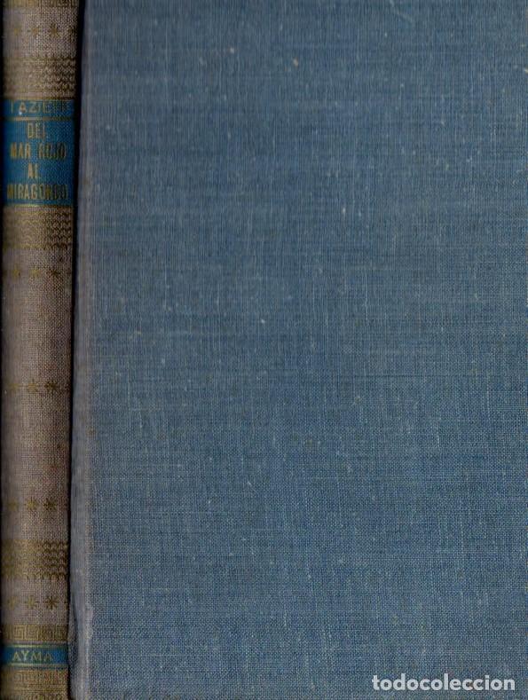 Libros de segunda mano: HAROUN TAZIEFF : DEL MAR ROJO AL NIRAGONGO (AYMÁ, 1956) - Foto 2 - 62889136