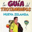 Libros de segunda mano: LA GUÍA TROTAMUNDOS DE NUEVA ZELANDA. EXCURSIONISMO.. Lote 62948640