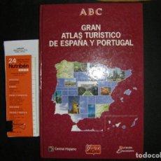 Libros de segunda mano: GRAN ATLAS DE ESPAÑA Y PORTUGAL. ABC. BLANCO Y NEGRO. Lote 63414384