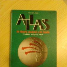 Libros de segunda mano - Atlas. Editorial Vicens Vives - 63465187