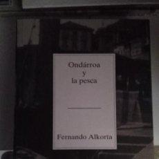 Libros de segunda mano: TEMAS VIZCAINOS 275. ONDARROA Y LA PESCA. Lote 63604640