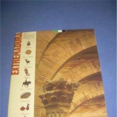 Libros de segunda mano: EXTREMADURA. HISTORIA, ARTE, NATURALEZA, RUTAS... 1993. Lote 64401039