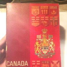 Libros de segunda mano: ANTIGUO LIBRO CANADA 100 AÑOS 1867-1967 . Lote 115337887