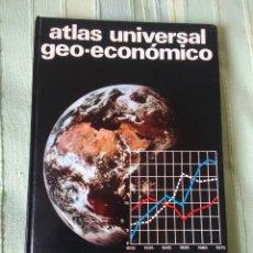 Libros de segunda mano: ATLAS UNIVERSAL GEO-ECONÓMICO. EDITORIAL TEIDE, S. A. INSTITUTO GEOGRÁFICO DE AGOSTINI.. Lote 64862675