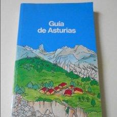 Libros de segunda mano: GUA DE ASTURIAS. 1992. RUSTICA. 322 PAGINAS. INCLUYE MAPA DESPLEGABLE. 810 GRAMOS.. Lote 64877287
