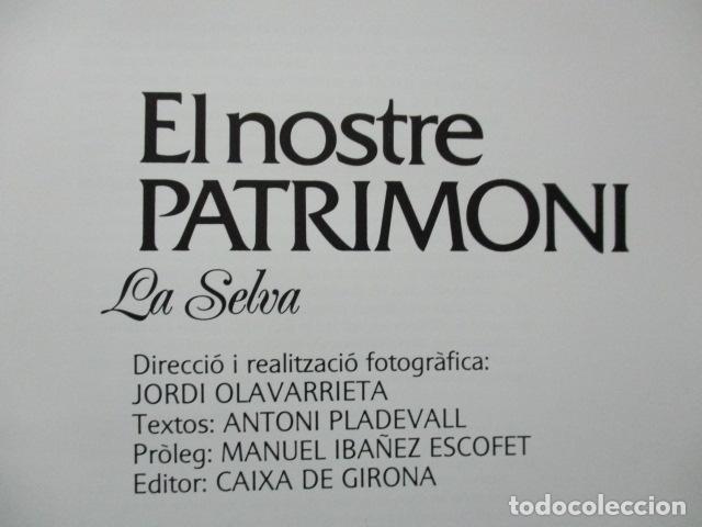 Libros de segunda mano: EL NOSTRE PATRIMONI - La Selva - en català - Foto 15 - 64954987