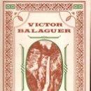 Libros de segunda mano: VICTOR BALAGUER : EL MONASTERIO DE PIEDRA (1972) FACSÍMIL DE LA EDICIÓN DE 1882. Lote 65028743