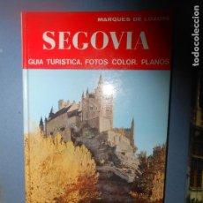 Libros de segunda mano: MARQUES DE LOZOYA SEGOVIA GUIA TURISTICA EDITORIAL NOGUER BARCELONA 1973. Lote 66843114