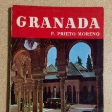 Libros de segunda mano: GRANADA. F. PRIETO-MORENO. Lote 67581149