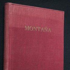 Libros de segunda mano: 1939 / 1945 - MONTAÑA -ANALES CENTRO EXCURSIONISTA CATALUÑA - FOTO - MAPA. Lote 39871290