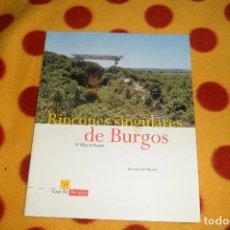 Libros de segunda mano: RINCONES SINGULARES DE BURGOS. X ALFOZ DE BURGOS POR ENRIQUE DEL RIVERO.. Lote 68332117