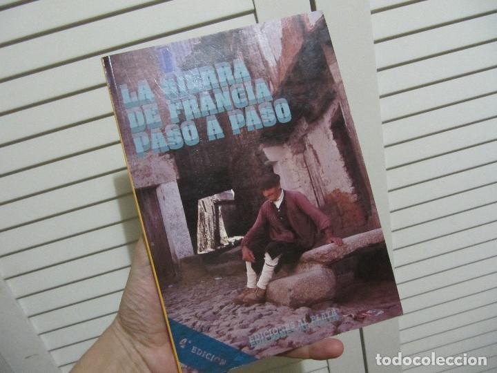 LA SIERRA DE FRANCIA PASO A PASO (Libros de Segunda Mano - Geografía y Viajes)