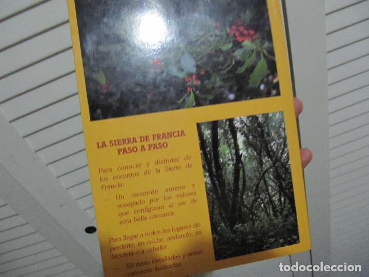 Libros de segunda mano: LA SIERRA DE FRANCIA PASO A PASO - Foto 2 - 68496597