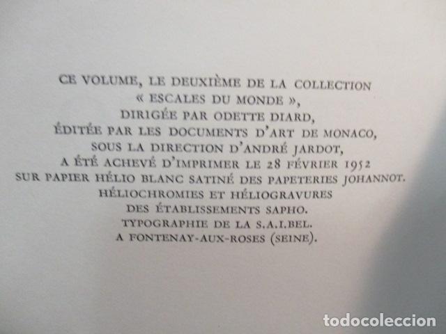 Libros de segunda mano: MEXICO - ESCALES DU MONDE - LES DOCUMENTS D ART - MONACO - 1952 (EN FRANCES) - Foto 6 - 68516525