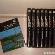 Libros de segunda mano: VV.AA. DESCUBRIR EL HOMBRE Y LA NATURALEZA. OCHO TOMOS Y DOCE CDS. RMT77732. . Lote 68583489