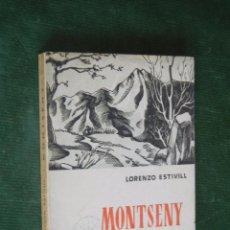 Libros de segunda mano: MONTSENY DE LORENZO ESTIVILL, ED.ARIMANY, 1950. Lote 68643925