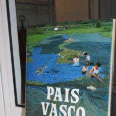 Libros de segunda mano: PAIS VASCO, PIO BAROJA. INCAFO 1988.TAPA DURA Y SOBRECUBIERTA.207 PAGINAS, 1835 GRAMOS. Lote 69024441