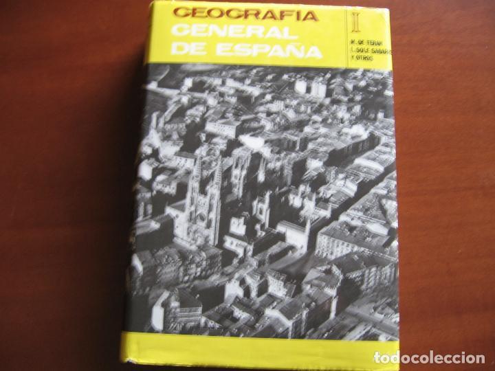 GEOGRAFÍA GENERAL DE ESPAÑA, TOMO I. (Libros de Segunda Mano - Geografía y Viajes)