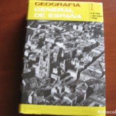 Libros de segunda mano: GEOGRAFÍA GENERAL DE ESPAÑA, TOMO I.. Lote 69128289