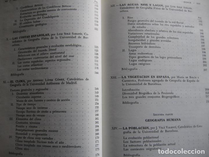 Libros de segunda mano: Geografía General de España, Tomo I. - Foto 4 - 69128289