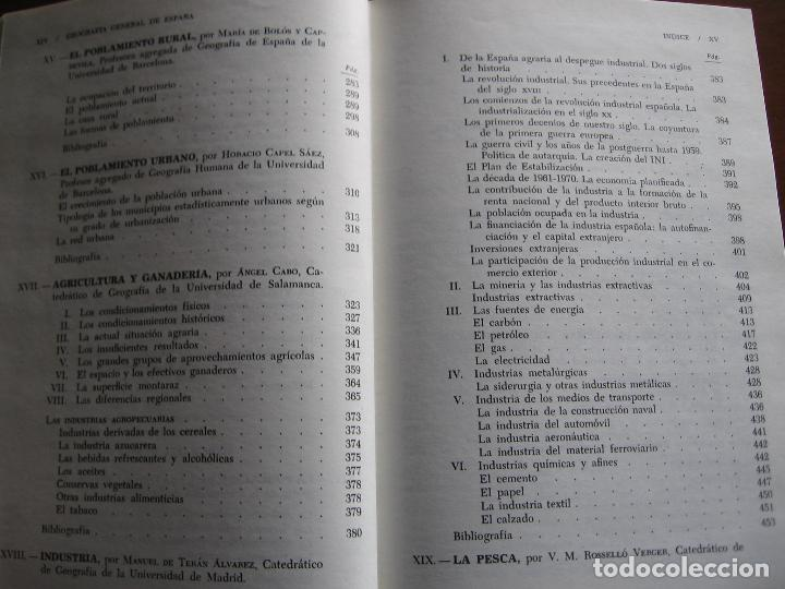 Libros de segunda mano: Geografía General de España, Tomo I. - Foto 5 - 69128289