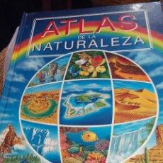 Libros de segunda mano: ATLAS DE LA NATURALEZA PARA NIÑOS - ILUSTRADO. Lote 69550941